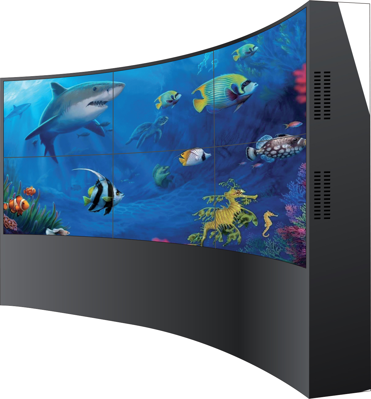 LCD ARC Video Wall